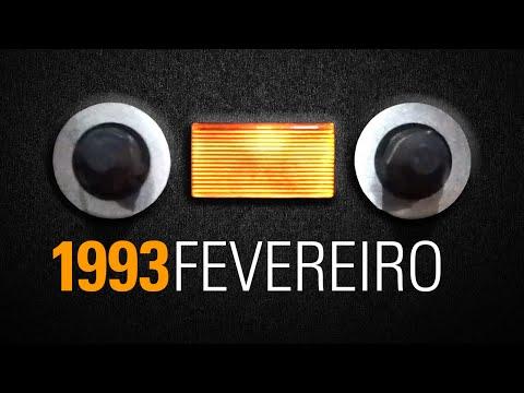 Fita audio cassete Funk Rio de Janeiro - 1993 Fevereiro