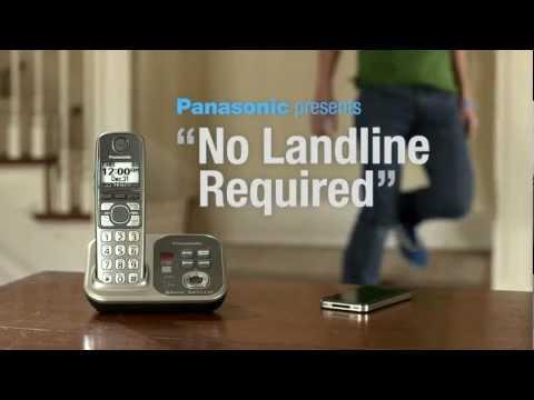 "Panasonic Link to Cell ""No Landline"""