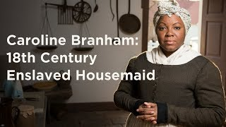 Talking With An Enslaved Housemaid At Mount Vernon