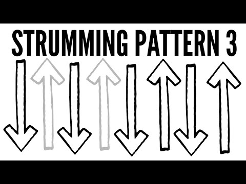 Strumming Pattern 3 ~ Ukulele School: Learn How To Strum!