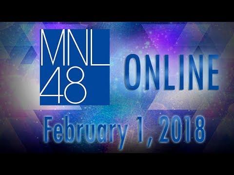 MNL48 Online Update - February 1, 2018