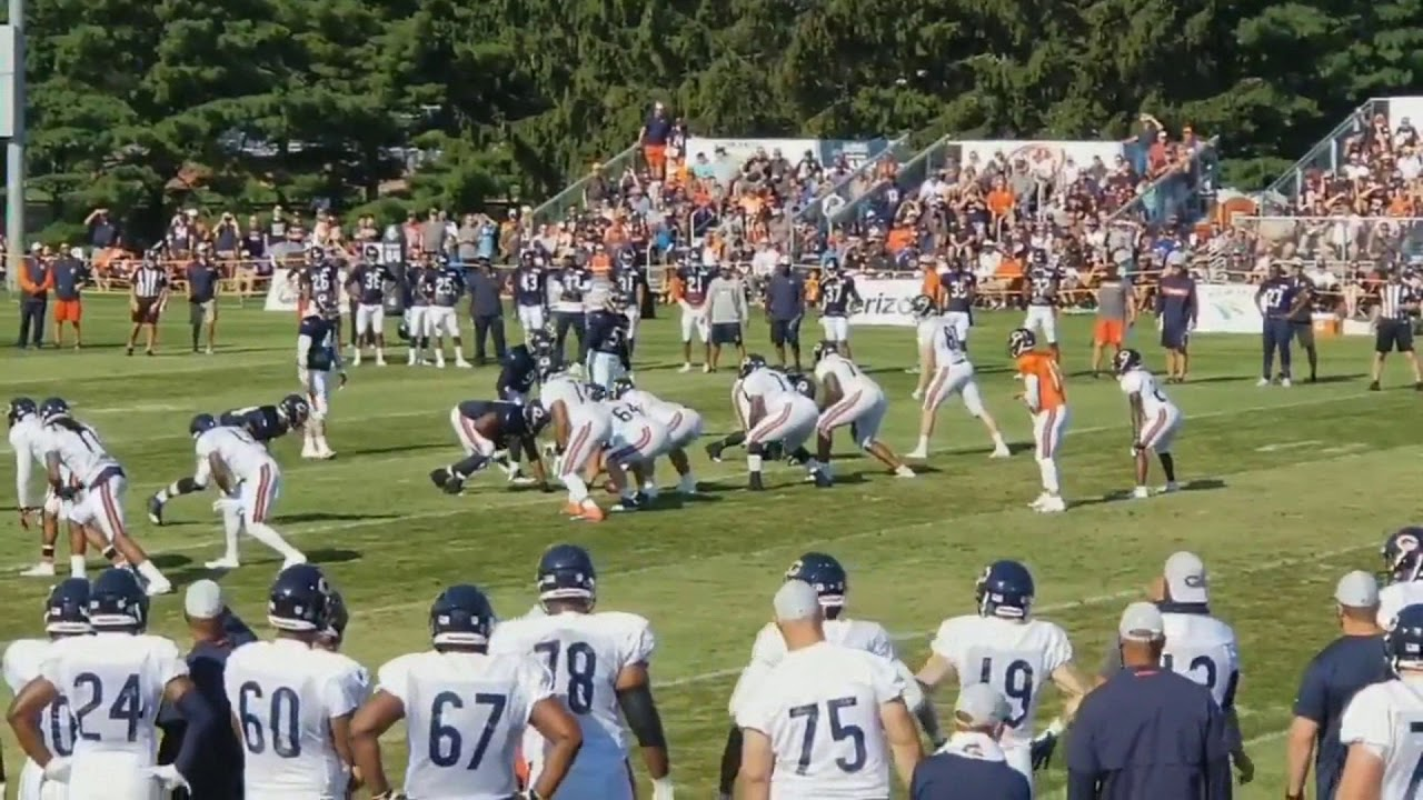 296003531 Chicago Bears Training Camp 2018 Day 4 - YouTube