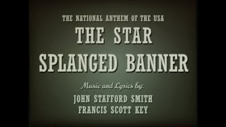 National Anthem Of The USA {𝓡𝓮𝓽𝓻𝓸𝓥𝓸𝓵𝓴} - \