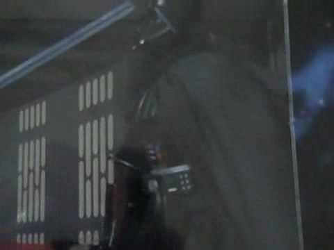 1998 Star Wars OBI-WAN KENOBI VS. DARTH VADER Electronic Action Collection Figures Kenner