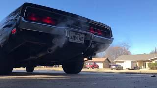 1969 Dodge Charger start up