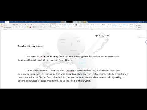AS PROMISED AN UPDATE ON THE DEFRAUDED HOMEOWNERS OF AMERICA LAWSUIT == By EeoN 2018 04 16