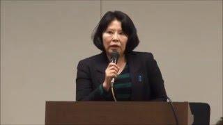 脱北者からの北朝鮮の実態報告 講師:高政美(コウ・ジョンミ)平成28年3月19日 救う会北海道