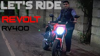 Let's Ride: Revolt RV400 Electric Motorcycle