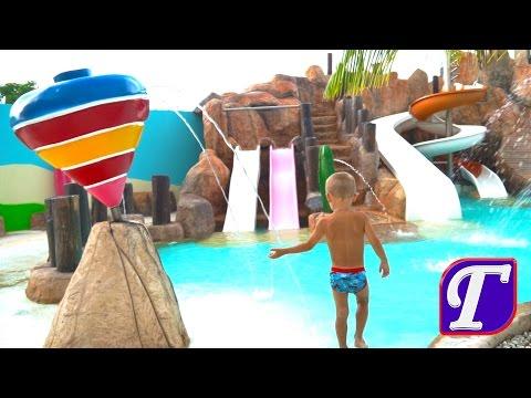 Отдых в Мексике Детские Развлечения Карибское Море Видео Для Детей День 1 Ч. 1 Entertainment