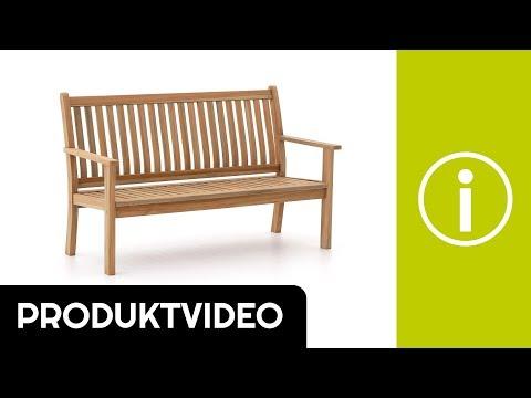 Produktvideo Sunyard Oxford Gartenbank 150 cm   Kees Smit ...