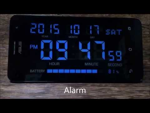 Digital Clock Shg2 Android Application Youtube