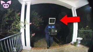 Scary Masked Figures Caught on Camera