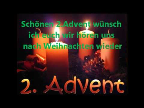 sch nen 2 advent w nsch ich euch youtube. Black Bedroom Furniture Sets. Home Design Ideas