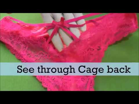 ca1f5751dcf Fully see through panties- very sexy - try on haul - buy online at Snazzyway