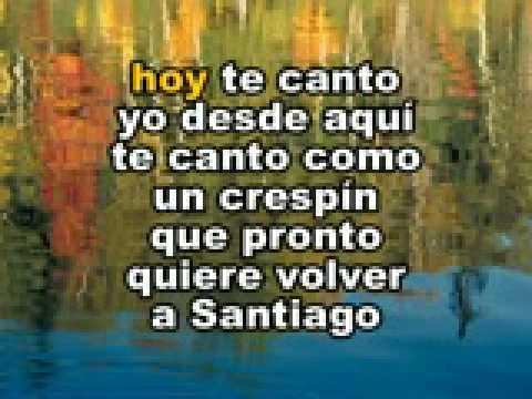 Santiago querido Leo Dan karaoke