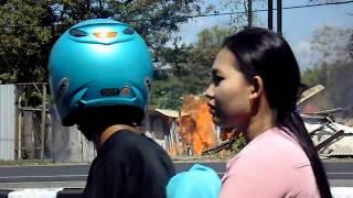 Kebakaran DI Jalan By Pass Pandaan Pasuruan - Gudang Besi Tua