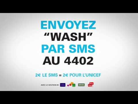 """Aidez un enfant, envoyez """"WaSH"""" au 4402"""