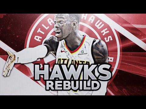 REBUILDING THE ATLANTA HAWKS! NBA 2K18 MY LEAGUE
