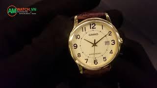 Review Đồng Hồ Casio MTP-V002GL-9BUDF [4K] - AMwatch.vn