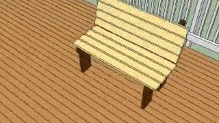 Free Deck Bench Plans