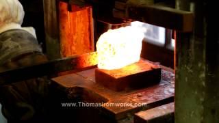 Making Nickel Damascus on a Hydraulic Press