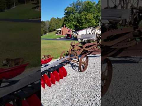 Antique Horse Drawn Farm Equipment