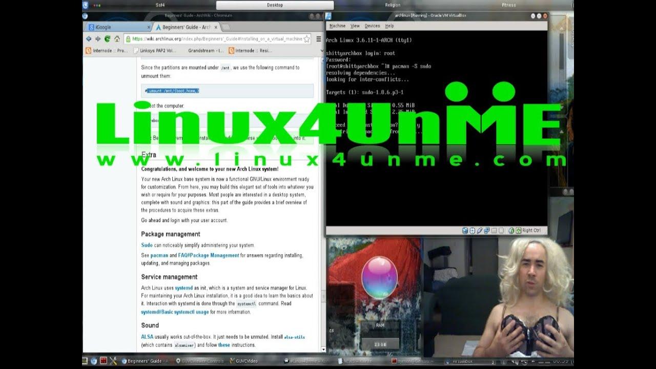 Archlinux 2013 installation tutorial youtube archlinux 2013 installation tutorial baditri Choice Image