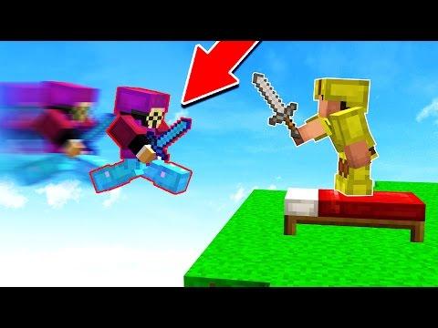 EXTREME HACKER GOES INSANE!! (Minecraft BED WARS)