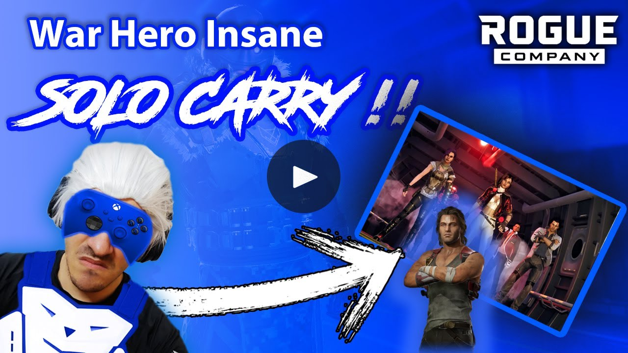 War Hero Rogue Company Insane Solo Carry - Rogue Company Dallas | Stressful Gameplay