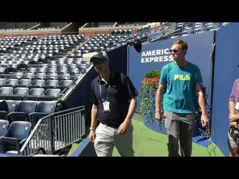Inside Tour of the Billie Jean King National Tennis Center with Sam Querrey