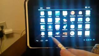 HTC Flyer running Jellybean 4.1.1