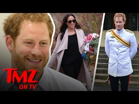 Prince Harry Took A 1,700-Mile Detour To See Meghan Markle! | TMZ TV