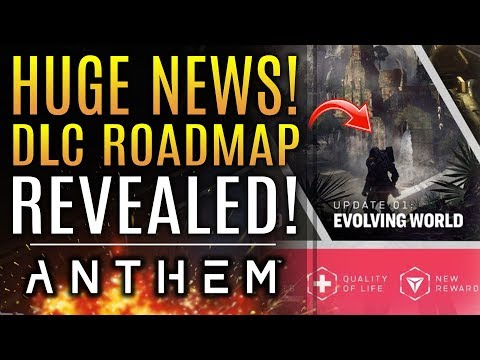 Anthem - Huge News: DLC ROADMAP REVEALED!  Will We Also See Raids as an Update?