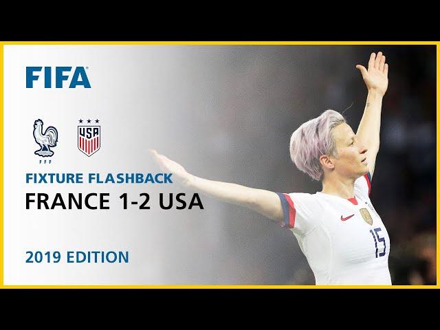 France 1-2 USA | France 2019 | FIFA Women's World Cup