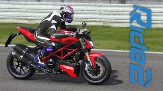 Ducati Streetfighter 848 2014 - Jogo Ride 2 PC Gameplay