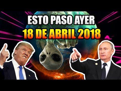 ESTO PASO AYER 18 DE ABRIL DEL 2018