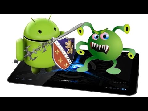 how to stop the this android has a virus