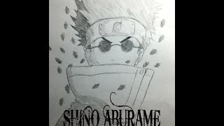Drawing Shino Aburame