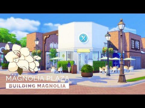 Sims 4  |  Speedbuild  |  Building Magnolia - Magnolia Plaza