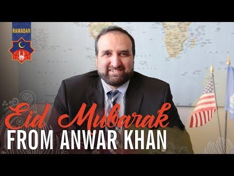 Islamic Relief USA - Ramadan 2017 - Eid Mubarak from CEO Anwar Khan