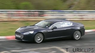 Aston Martin Rapide S testing on the Nürburgring!