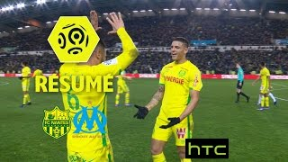 FC Nantes - Olympique de Marseille (3-2)  - Résumé - (FCN - OM) / 2016-17