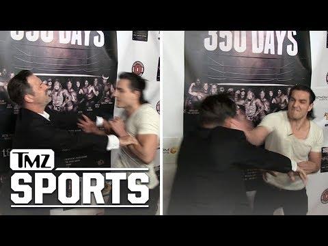 David Arquette Pimp Slapped at Movie Premiere  TMZ Sports