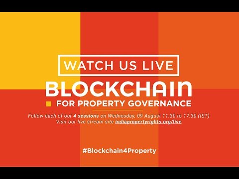 Conference on Blockchain for Property Governance