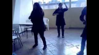 coreografia  we found love- rock me out (Rihanna)