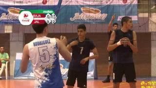 Baja vs Jalisco Sub 18. Voleibol Var. Olimpiada Nacional 2017