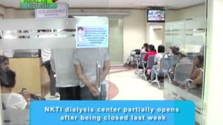 Health Update: Graphic Health Warning Bill and NKTI dialysis center