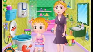 baby hazel bathroom hygiene game-Baby Video For Kids in English