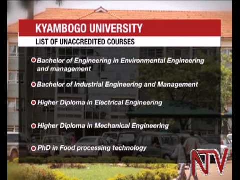 MPs grill Kyambogo University administrators over unaccredited courses