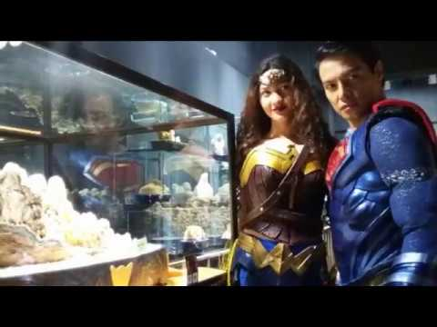 My Crystal Museum - superman and wonderwoman from Philippines visit world